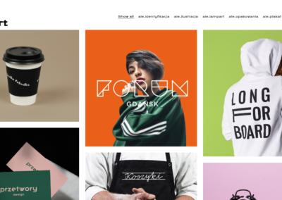 alelampart.pl – strona portfolio
