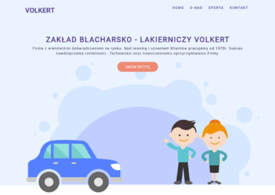 volkert.pl – strona wizytówka